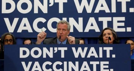 Nueva York: Prohíben que la religión sea motivo para evitar vacunar a los niños