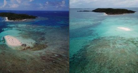 Por el cambio climático está a punto de desaparecer un islote puertorriqueño