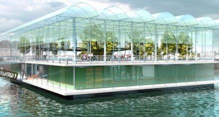 Holanda: Apuestan a una producción sostenible con una granja flotante