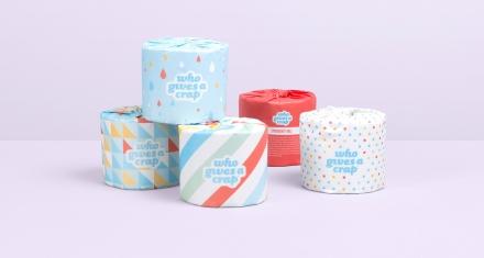 Inspirador: Papel higiénico para construir inodoros