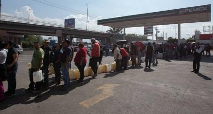 México: Empresarios advierten costos millonarios por la escasez de combustible