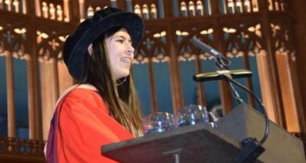 'Birdgirl' Mya-Rose Craig receives Bristol University honorary doctorate