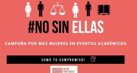 #NoSinEllas es la campaña que reclama mayor participación de mujeres en eventos académicos