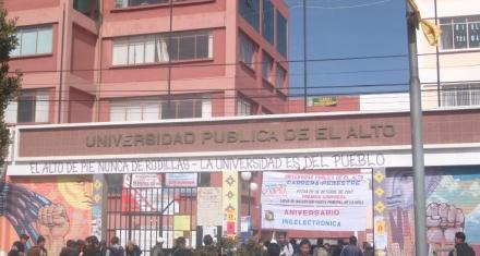 Bolivia lamenta la tragedia ocurrida en la Universidad Pública de El Alto (UPEA)