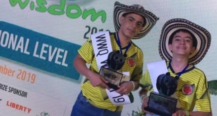 Adolescentes colombianos ganaron el concurso global sobre biodiversidad organizado por WWF-India