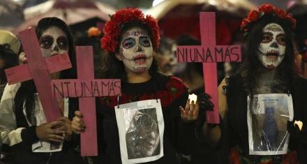 México: Cada día nueve mujeres son asesinadas