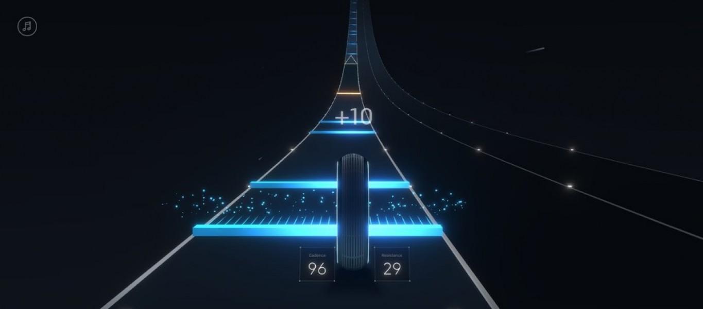 El juego adaptará las pistas y sus rutinas de ejercicio según la música que suene (Foto: Peloton)