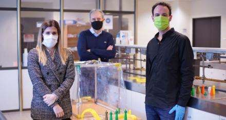 Argentina: científicos desarrollan una cámara para tratar a pacientes graves con coronavirus sin contagiarse