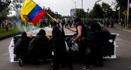 Colombia se une a la oleada de protestas lationamericanas