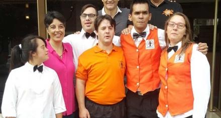 Primer hotel argentino que da empleo a jóvenes con síndrome de down