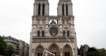 Notre Dame: La Fiscalía de París confirma que no hay señales de que el fuego fuese intencional