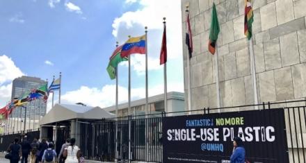 ONU: Destierran los plásticos de la sede central de Nueva York