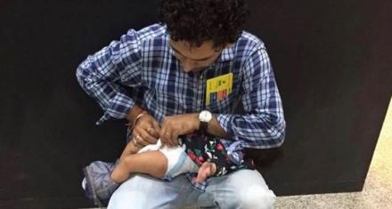 Estados Unidos: 5 mil cambiadores de bebés en los baños públicos masculinos