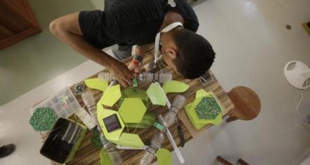 Tortuga tecnológica para detectar microplásticos en los océanos