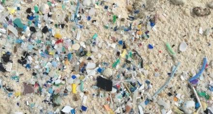 Australia: La Isla Cocos cubierta por 414 millones de piezas de basura