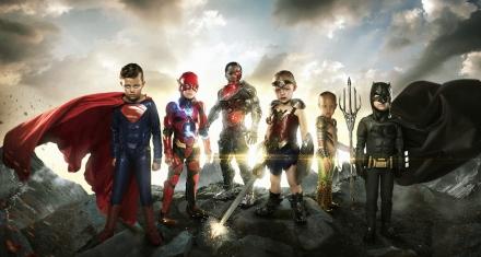 Photographer transforms sick kids into superheroes