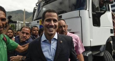 Guaidó desafía a Maduro y viaja a la frontera para recibir ayuda