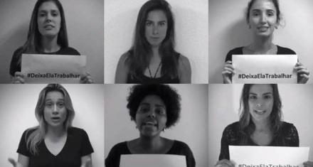 Campaña de periodistas deportivas en contra del machismo del mundial