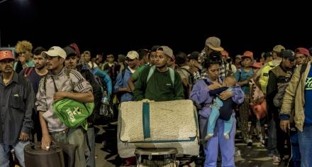 """México negocia un """"plan Marshall"""" con Trump para la migración de Centroamérica"""