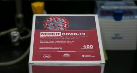 NEOKIT-COVID-19 : Cómo funciona el test rápido de diagnóstico molecular creado por argentinos