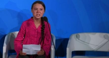 Greta Thunberg Warns World Leaders in UN Speech