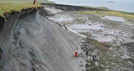 Se acelera el calentamiento global dada la pérdida de permafrost en el Ártico