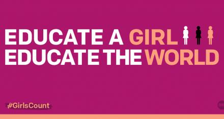 130 millones de niñas fuera de las aulas