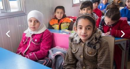 20 escuelas nuevas en Siria