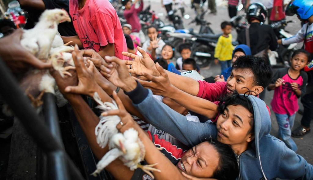 Crédito: JEWEL SAMAD / AFP