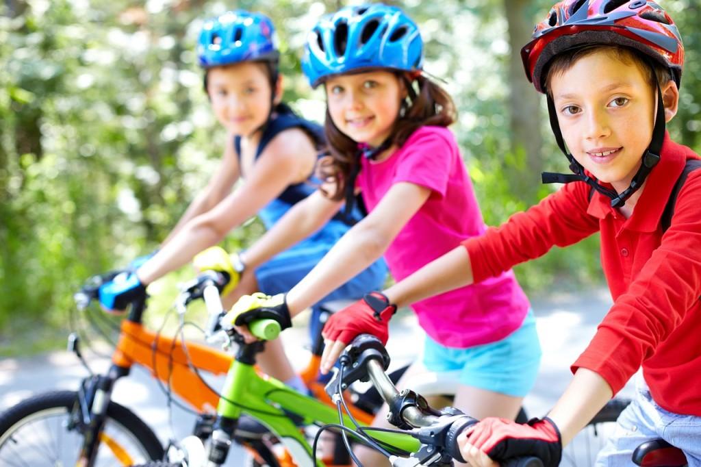 niños bici