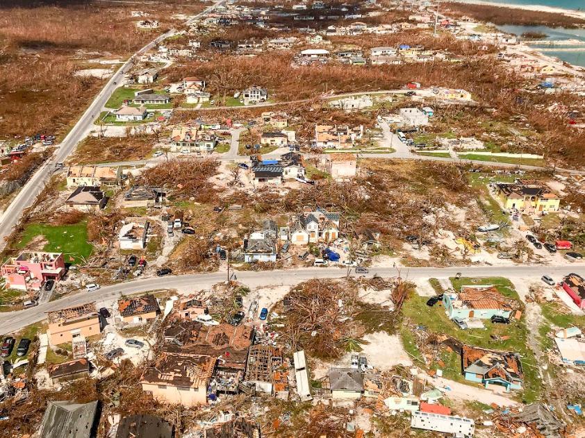 Hurricane Dorian Image: Global Citizen