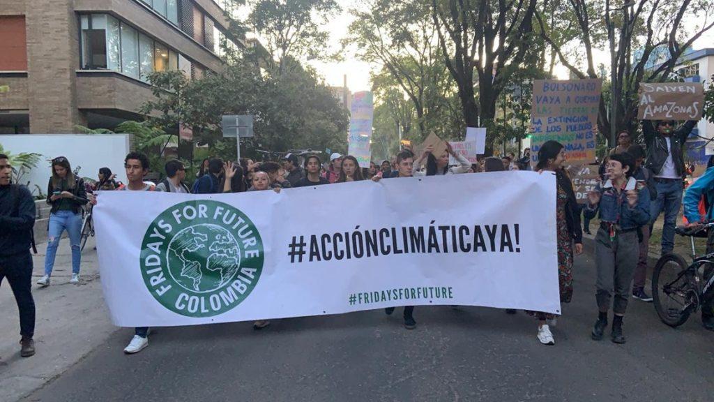 Crédito: Movimiento Fridays For Future Colombia / Laura Muñoz