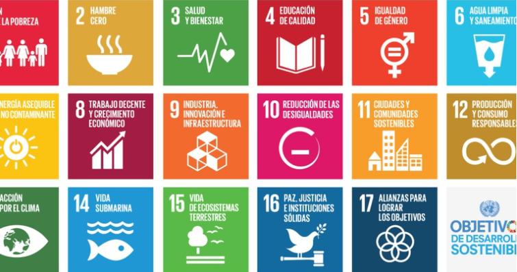 Objetivos de desarrollo sostenible planteados por la ONU